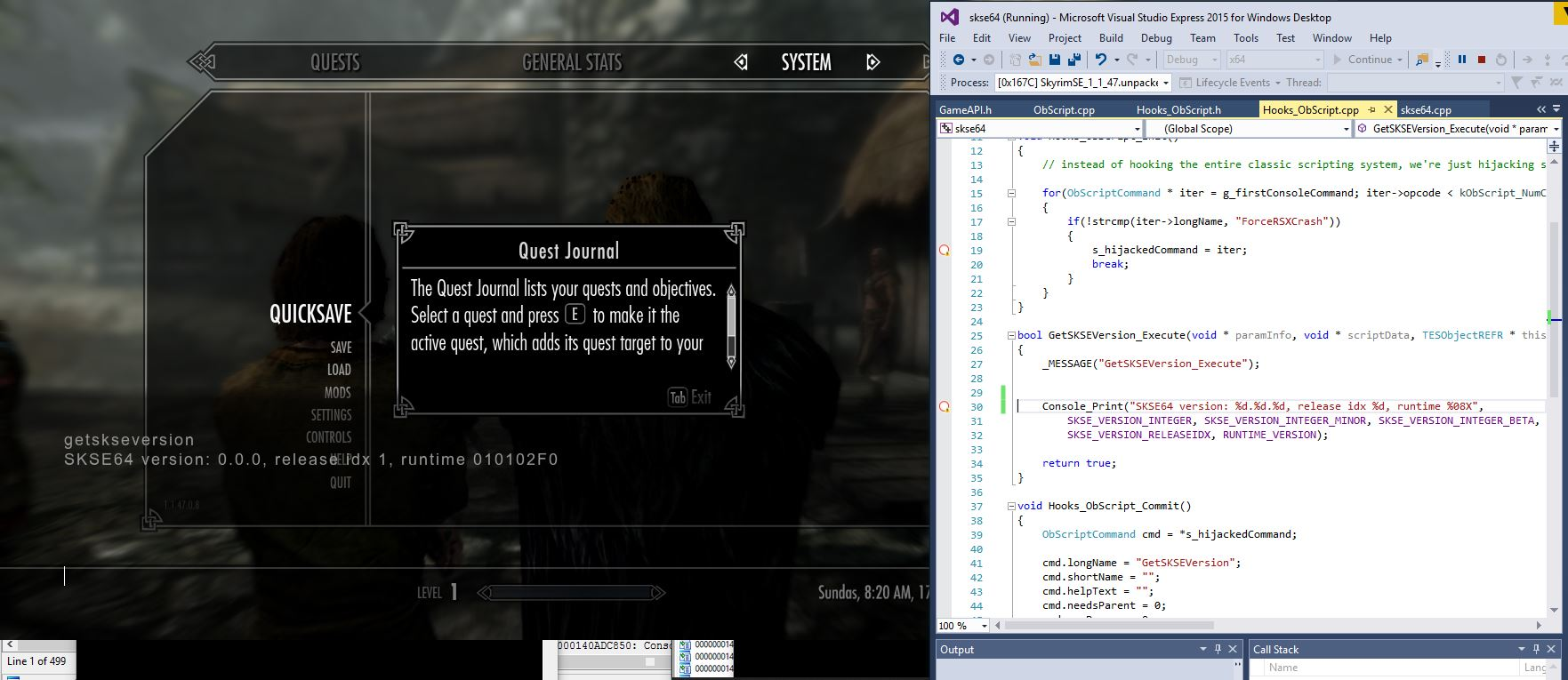 PC] Official SKSE64 thread : skyrimmods
